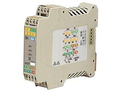 D1 DIN rail mount temperature controller with current transformer - Ascon Tecnologic