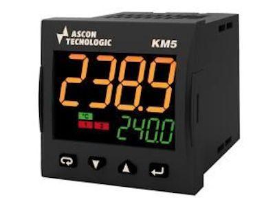 KM5 Controller programmer, with 8 programs and 96 segments - Ascon Tecnologic
