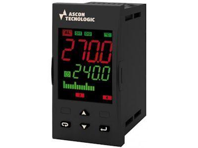KX5 Controller programmer, with 8 programs and 96 segments - Ascon Tecnologic