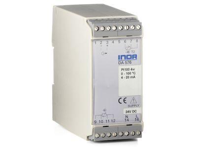 DA576 Precision transmitter for absolute and differential temperature measurement - Inor