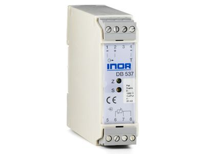 DB537 Analog 2-wire transmitter for potentiometer input - Inor