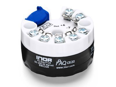 IPAQ C520 HART compatible universal dual-input 2-wire transmitters - Inor