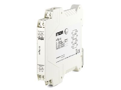 IsoPAQ-12L 2-channel loop powered isolator for separation of 0(4)-20 mA signals - Inor