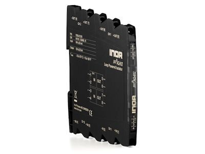 IsoPAQ-612 2-channel loop powered isolator for separation of 0(4)-20 mA signals - Inor
