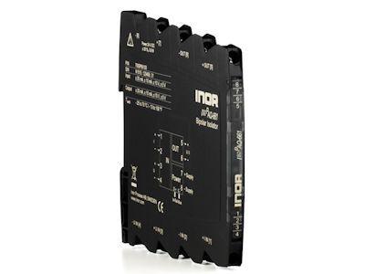 IsoPAQ-661 Isolation transmitter for bipolar and unipolar mA/V signals with calibrated range selection - Inor