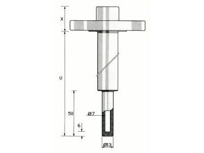 Thermowell Form TWFRE - Tempcontrol