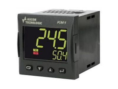 KM1 Controller with independent timer - Ascon Tecnologic